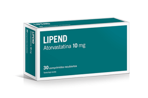 LIPEND 10mg 30 comprimidos